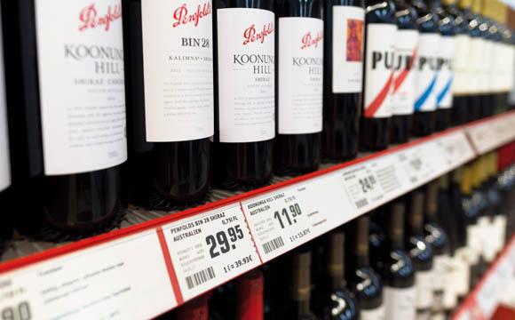 Wein: Preisschwelle von drei Euro geknackt