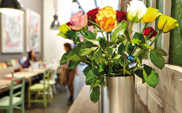 Fair produzierte Rosen kommen häufig aus Afrika.
