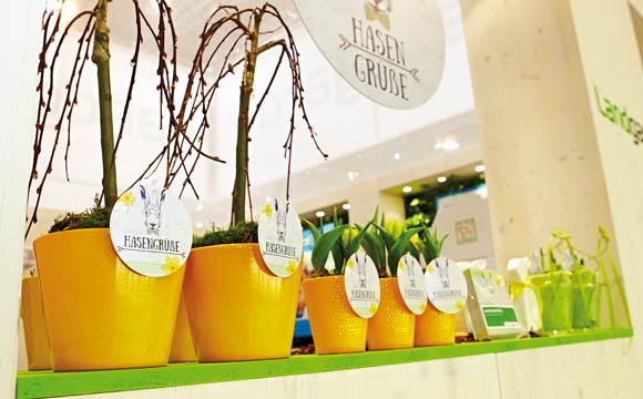 Frühlingsgrüße: Ostern ist ein Familienfest, das dem Handel viele Aktionsmöglichkeiten bietet.