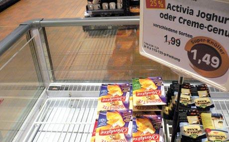 Storecheck zum Thema Kundenorientierung (Bildquelle: Schulz)