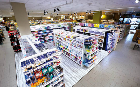 Haibach: Haibach ist ein Nahversorger, dessen Kunden viel Wert auf frische und hausgemachte Produkte legen. Die Drogerieabteilung ist aufgebaut wie ein Shop-in-Shop-Konzept.