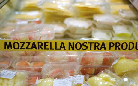 Eigene Produktion: Mozzarella gibt es in x Varianten.