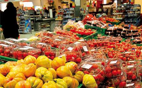 Das Tomaten-Paradies: Mehr als 20 Sorten Tomaten gibt es hier permanent zu kaufen.