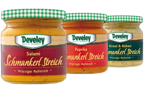 Develey Senf & Feinkost - Schmankerl Streich