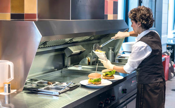 Pasta, Pizza und Burger sind am Standort Wahn aufgrund des jungen Publikums aus der nahe gelegenen Schule gefragt und gute Umsatzbringer.