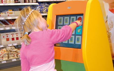 Einkaufserlebnis: Auch an die Kleinen wird gedacht.
