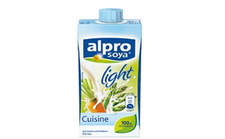 Frei von laktosefrei alternativ lebensmittel praxis for Alpro soja cuisine