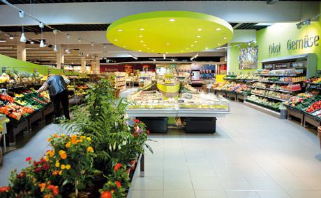 Marktplatz: Die O&G-Abteilung sieht aus wie eine Markthalle.