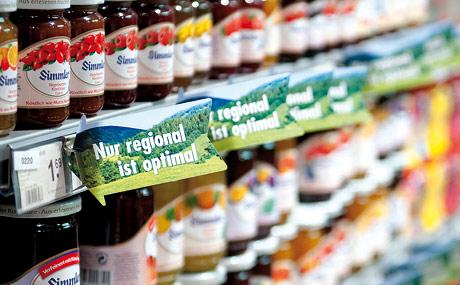 Wie definiert der Handel eigentlich Regionalität? (Bildquelle: Kämper)