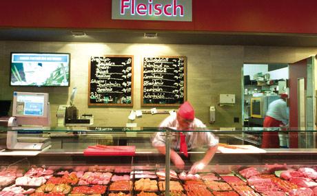 Qualität: An der Theke wird überdurchschnittlich viel hochwertiges Fleisch nachgefragt.