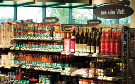 International: Spezialitäten aus aller Welt werden von den Kunden als Standard verlangt.