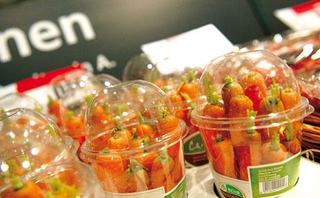 Portioniert: Nicht nur Obst, Gemüse und Säfte, auch Back- und Süßwaren haben verzehrfreundliche Portionsgrößen.