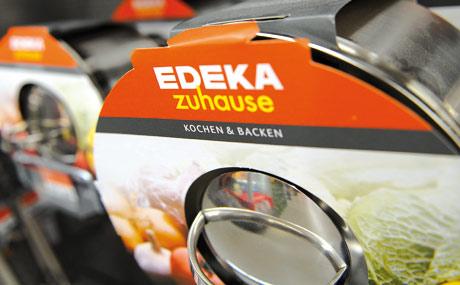 Neu im Markt: Artikel von Edeka zuhause werden gut nachgefragt.