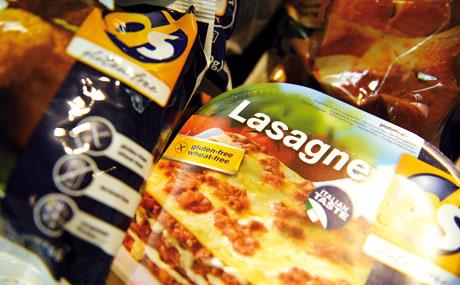 Aufgestockt: Das Sortiment an glutenfreien Produkten (auch TK) ist erweitert worden.