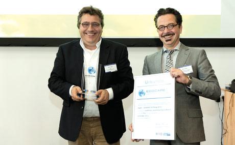 Sven Euen, Qualitäts- und Rohstoffmanagement Fleisch Tegut (r.), und LP-Chefredakteur Reiner Mihr.