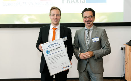 Andreas Bieda (l.), Technical Manager Foods DACH Unilever, und Reiner Mihr.