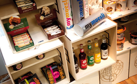 SPEZIALITÄTEN: Eine Reihe von Spezialitäten gibt es vor allem im Getränke- und Snack-Bereich zu entdecken.