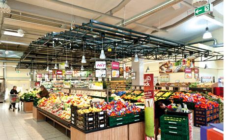 Schwerpunkt Obst und Gemüse: bis 350 verschiedene Sorten.