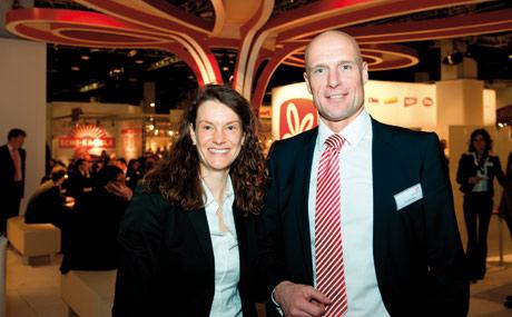Snackige Trendsetter: Claudia Studtmann und Karl-Heinz Westing, Intersnack.