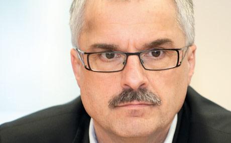 Die Geschäftsführer des Nordfrische Centers, Stephan Weber ...
