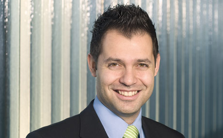 Davide Elia, Leiter für Marketing und Kommunikation bei Bell.