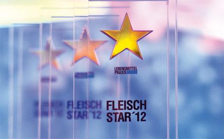 Die Preisträger des Fleisch-Star 2012 wurden beim 20. Deutschen Fleischkongress ausgezeichnet.