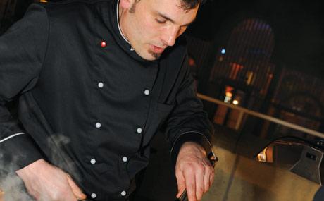 Grill-Guru: Chris Reich (Erlebnis²) sorgte für kulinarische Genuss-Momente.