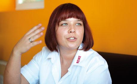 Verena Aupperle hat die Verantwortung für den Bereich Service.