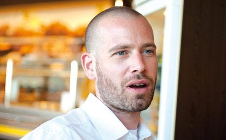 Sebastian Aupperle leitet den Markt Rewe Aupperle Filiale Oettingen.