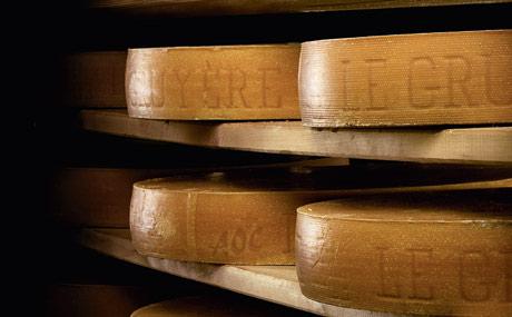 2.600 Tonnen Le Gruyère AOC essen deutsche Kunden pro Jahr. (Quelle: SCM, 2011)