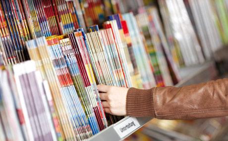Zeitungen und Zeitschriften: Sie sind fu?r den Händler nicht nur Frequenz-, sondern auch Umsatzbringer. (Bildquelle: fotolia)
