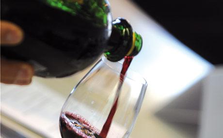 Rotwein liegt im Trend, wichtige Sorten sind z.B. Blauer Spätburgunder, Dornfelder, Merlot, Syrah, Tempranillo, Trollinger und Lemberger. (Bildquelle: Belz)
