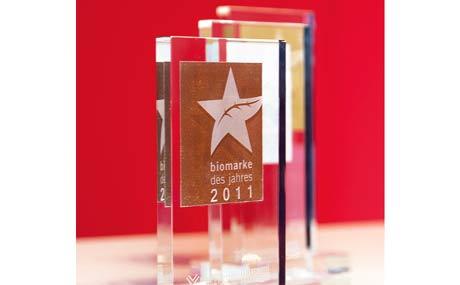 Auszeichnung: Biomarke des Jahres 2011