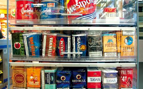 """Kontrollierter Zugriff durch Tabakschränke mit deutlich geringeren Inventurdifferenzen im Segment """"sonstige Tabakwaren""""."""