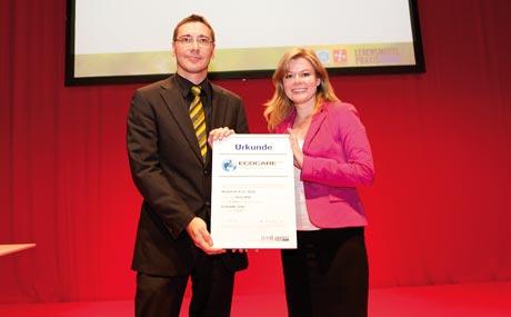 Stefan Karsten und Maren Lahm (Henkel)...