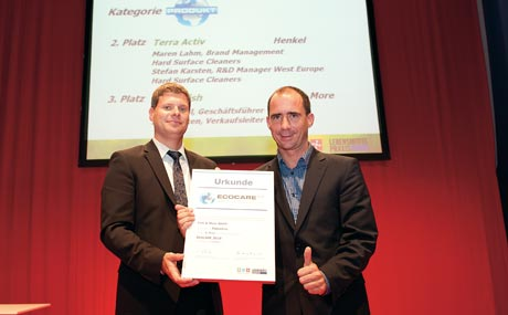 ... sowie Lars Braker und Jürg Knoll (Fish & More) feierten ihre Nominierungen.