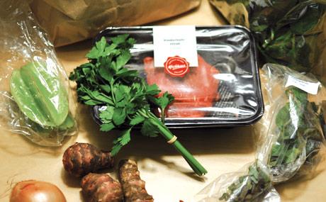 Optimale Portionsgröße und einfache Zubereitung beim Kochhaus. Als störend empfanden die Tester allerdings das Füllmaterial.