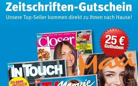 Ein Zeitschriften-Abo nach dem Prepaid-Prinzip: Dieses Modell testet die Bauer Media Group. (Bildquelle: Bauer Media Group)