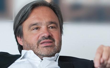 Eine gesunde Mischung aus Kultur, Gastro und Handel – so stellt sich Rewe-Chef Alain Caparros den Supermarkt der Zukunft vor. (Bildquelle: Mugrauer)