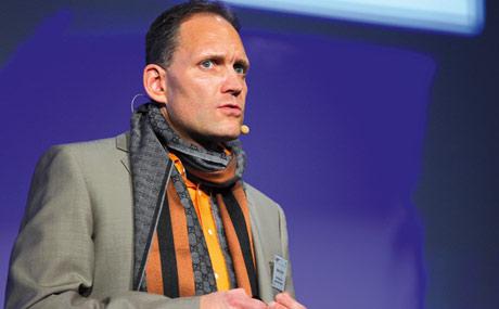 Matthias Fu?chtner, Vorstand der Edeka Staufers Konsumgenossenschaft Göppingen, Göppingen.