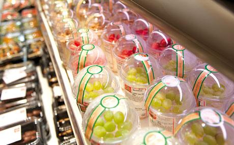 Schnelldreher: Joghurt mit Früchten als Topping, mehrmals am Tag frisch zubereitet.