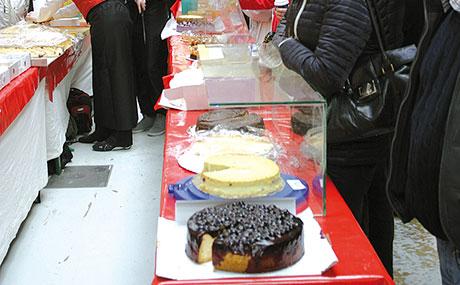 Alle Jahre wieder Käsekuchen satt (Bildquelle: Marheineke Markthalle)