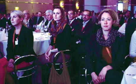 Mehr als 300 Gäste verfolgten die Diskussion.