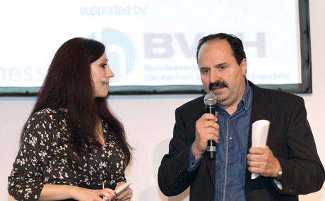 Über die Verantwortung des Handels gegenüber der kommenden Generation sprach Starkoch Johann Lafer mit Moderatorin und LP-Redakteurin Bettina Röttig.