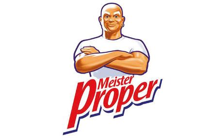 1990: Meister Proper Essig-Kraft: Meister wurde von einer Agentur in Chicago unter dem Namen Mr. Clean entwickelt. 1990 schaffte es die Variante Essig-Kraft in die HIT-Liste.
