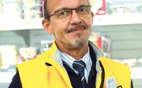 Roland Krafft, Abteilungsleiter Feinkost und seit Jahren bei Metro.