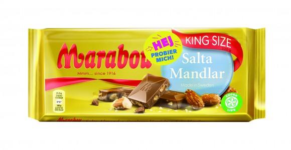 Marabou: Marabou Salta Mandlar