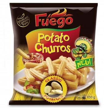 Fuego: Potato Churros von Schne-frost