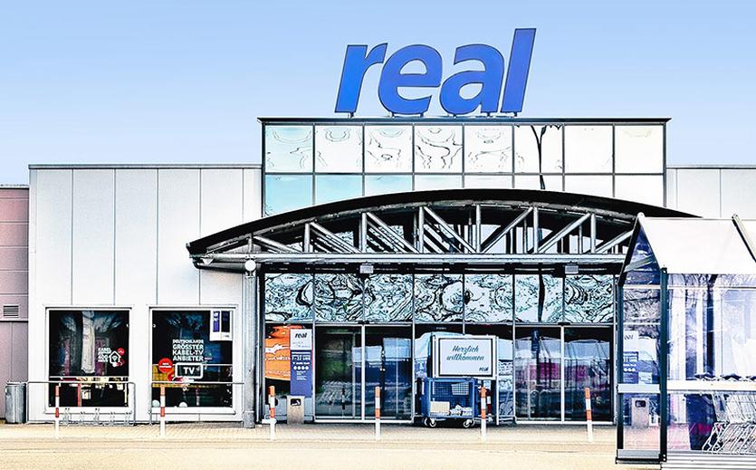 Meldet Übernahme von Real-Standorten an