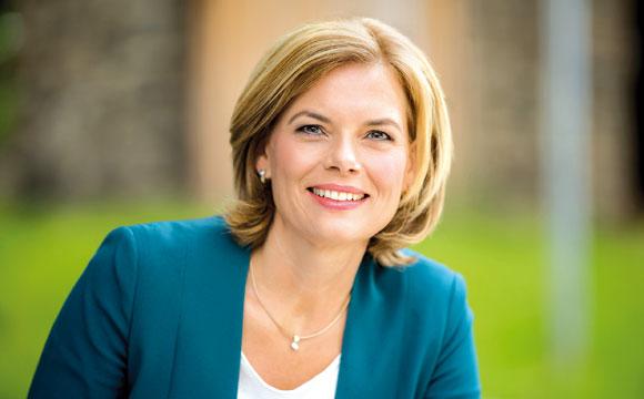 Julia Klöckner tritt für fairen Handel ein